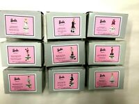 Lot of 9 Different Barbie  PHB Porcelain Hinged Boxes Midwest of Cannon Falls