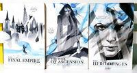 Complete Set of 3x Mistborn Fantasy Book Series! Novels by Brandon Sanderson!