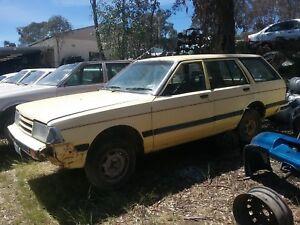 1985 Nissan Bluebird series 3 wagon seat bolt wrecking complete car