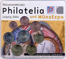 Deutschland Euro KMS 2004 A -  Philatelia Leipzig 2004