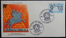 M99* Enveloppe Premier Jour FDC 1977 (Timbre n°1927) Journée du Timbre