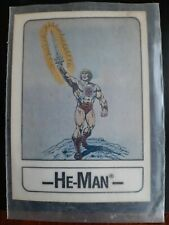 1986 MOTU HE-MAN Wonder Bread Card Masters of the Universe