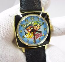 THE MARX BROTHERS, Manual Wind,ULTRA Rare! MEN'S CHARACTER WATCH,1092 L@@K!