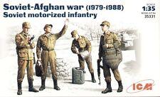 ICM 1/35 Soviético Motorizado Infantería soviética de Afganistán Guerra 1979-88