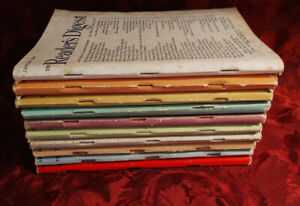 Readers Digest Reading Copy Lot 1947 issues