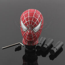 Red Spider Man Model Universal Car Gear Stick Shift Manual Shifter Lever Knob