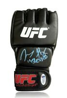 """Max Holloway Hand Signed UFC Glove BAS COA Autograph Inscribed """"Blessed"""""""