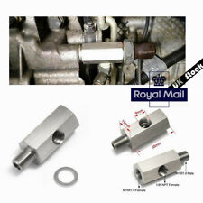1/8'' NPT Outlet Oil Pressure Sensor Adapter Turbo Oil Pressure Sensor UK !