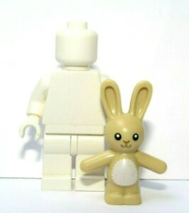 Lego 1 X Tan Bunny Rabbit    Minifigure Not Included    Easter Toy Animal