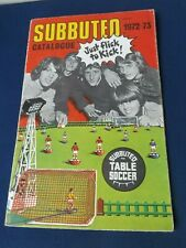 Subuteo Table Soccer (Football) 1972-73 (1973) fold-out catalogue