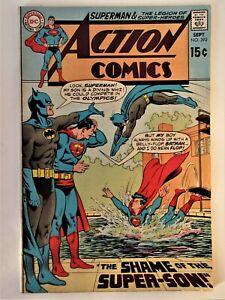 """DC comics """"ACTION COMICS """" # 392 Superman en V.O 1970"""