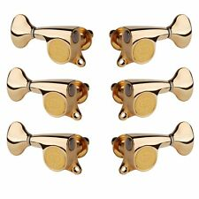 Gotoh Mini 510 3+3 Tuners with Metal Knobs, Gold