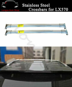Fits for Lexus LX570 2016-2020 Crossbar Cross bar Roof Rack Rail Baggage Carrier