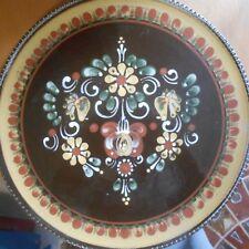 "Dutch/german? pottery plate, 12"" in diameter"