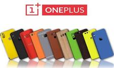 Carbon Leather Wood Chrome Skin Wrap Sticker Case Cover All OnePlus 2 3 5 6 6T