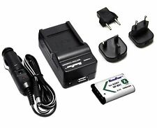 Charger UK EU US plug+ Camera Battery for SONY NP-BX1 NPBX1 CyberShot DSC-RX100