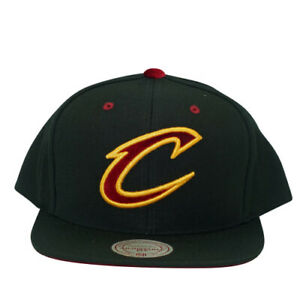 Cleveland Cavaliers Solid Velour Logo Snapback