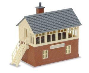 PECO NB-3 - Lineside Wood & Brick Type Signal Box Kit N Gauge - Tracked 48 Post