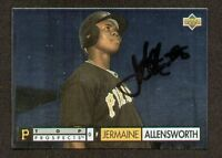 Jermaine Allensworth signed autograph auto 1994 Upper Deck baseball Trading Card