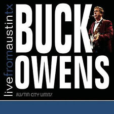 Buck Owens: Live From Austin TX CD Classic Country Bakersfield Sound/Ships Free