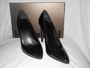 Luxury Rebel New Womens Victoria Black Patent  Heels Eur 36.5 US 5.5 - 6 M Shoes