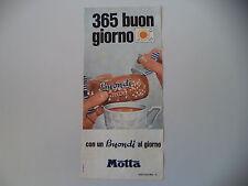 advertising Pubblicità 1968 BUONDI' MOTTA