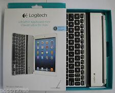 Logitech Wireless Ultrathin Keyboard Cover iPad mini w/ Retina 920-005795 Silver