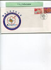 MALAYSIA EXH. COVER * KUALA LUMPUR '92 * FIAP DAY 7/9/92  # R067