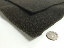 Washable Air Filter Media - Black 2m x 1m - 6mm Thick (Humidifier Foam Filter)