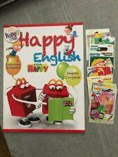 ALBUM VUOTO HAPPY ENGLISH MCDONALD'S + Set completo di figurine 2013