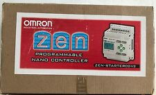 OMRON INDUSTRIAL AUTOMATION  ZEN-10C2DR-DV2  PROGRAMMABLE LOGIC CONTROLLER-PLC