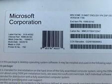 Microsoft Windows 10 Home 64 Bit Full Version & product Key-Brand New