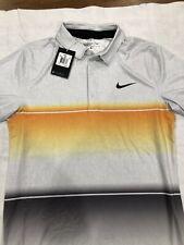 Nike Men's Mobility Stripe Golf Polo Standard Fit Size S-T 725537-868 $80