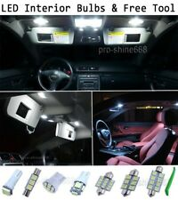 New Interior Car LED Bulbs Light KIT Package Xenon White 6000K For Honda Accord