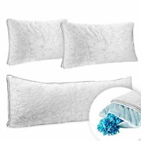 Memory Foam Cool Gel Pillow Ultra Luxurious Hypoallergenic Pillow & Body Pillow