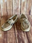 Women's Sperry Top-Sider Leather Boat Shoes #9276619 Size 8M Preowned