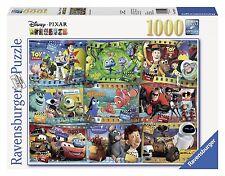 Ravensburger Disney Pixar: Disney-Pixar Movies (1000-Piece) Puzzle , New, Free S