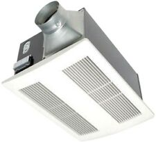 Whisper Warm Ceiling Exhaust Bath Fan with Heater 110 CFM Quick Warm Up Bathroom