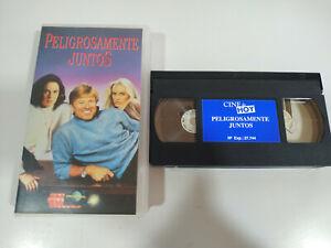 Peligrosamente Juntos Robert Redford Daryl Hannah - VHS Cinta Español - 2T