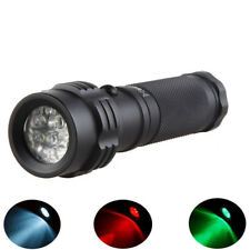 Hugsby LE-T11 11xLEDs 250Lm 3Colors Dimming IPX6 Camping Hunting Portable EDC LE