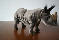 Hansa TOY INTERNATIONAL  Rhino Plush Toy Hand Crafted. ART.5251 44 cm/17 in