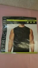 Structure Muscle Tee Black Xl