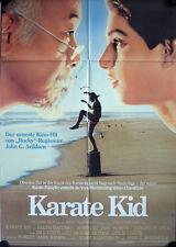 Karate Kid Filmposter A1 Ralph Macchio, Pat Morita, Elisabeth Shue, Martin Kove