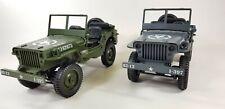 Royaume-Uni nouveau 2.4 G 4X4 WILLYS MB WW2 radio control RC Jeep RTR militaire armée Tank car