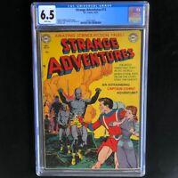 Strange Adventures #13 (1951) 💥 CGC 6.5 White Pgs 💥 Captain Comet DC Comics