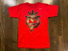 Vintage NIKE Red MP Manny Pacquiao PacMan TShirt Size Small S