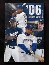2006 Milwaukee Brewers Media Guide. Prince Fielder, J.J. Hardy. MLB Guide.