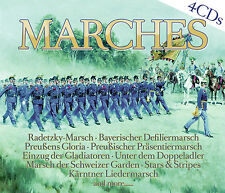 CD Marches Märsche von Various Artists 4CDs