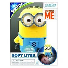 Soft Lites Despicable Me Minions Automatic Childrens Kids Night Nite Light Lite