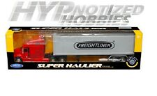 WELLY 1:32 SUPER HAULIER - FREIGHTLINER COLUMBIA DIE-CAST RED 32621W
